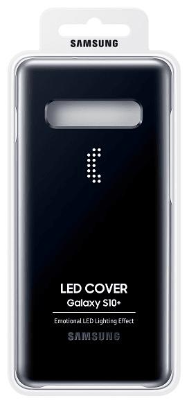 Samsung LED Cover Galaxy S10 plus, černý EF-KG975CBEGWW
