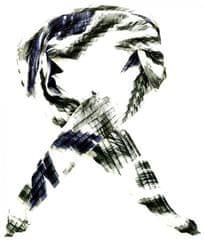 Alber Zoran dámský černý šátek
