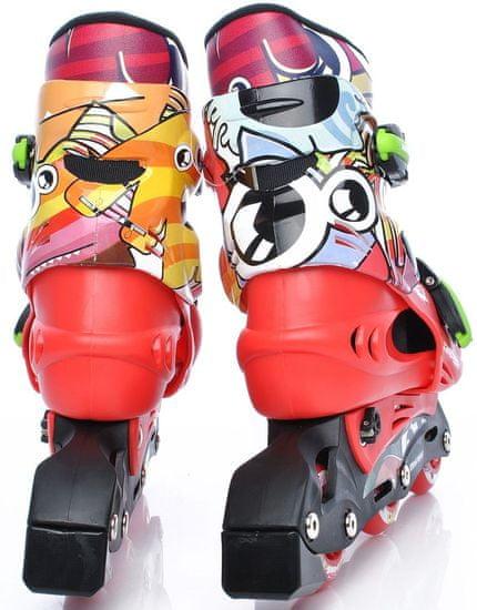 TEMPISH zestaw Monster baby skate rolki+kask+ochraniacze