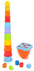 Mac Toys Žirafa štosovací kelímky