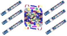 Konfety Párty  barevné 40 cm 6 ks