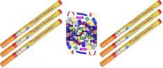 Konfety Párty barevné 80 cm 6 ks