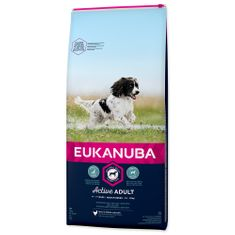 Eukanuba Adult Medium Breed hrana za pse, 15 kg