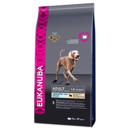 Eukanuba sucha karma dla psa Adult Lamb & Rice Large - 12kg