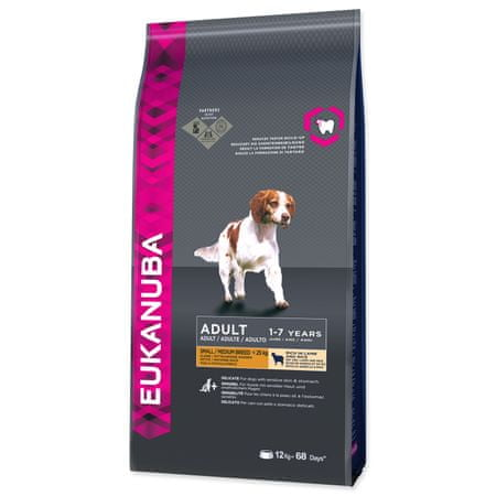 Eukanuba Adult Small & Medium Lamb hrana za pse,  12 kg