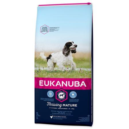 Eukanuba hrana za pse Mature & Senior Medium, 15 kg