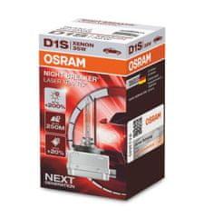 Osram Xenónová výbojka D1S, Xenarc Night Breaker Laser, 35W, PK32d-2