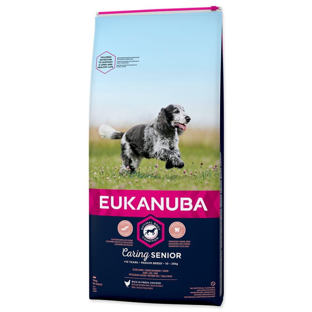 Eukanuba Senior Medium 15 kg