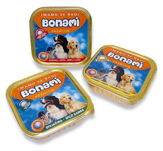 Bonami limenka za pse, govedina i jetrica, 150 g