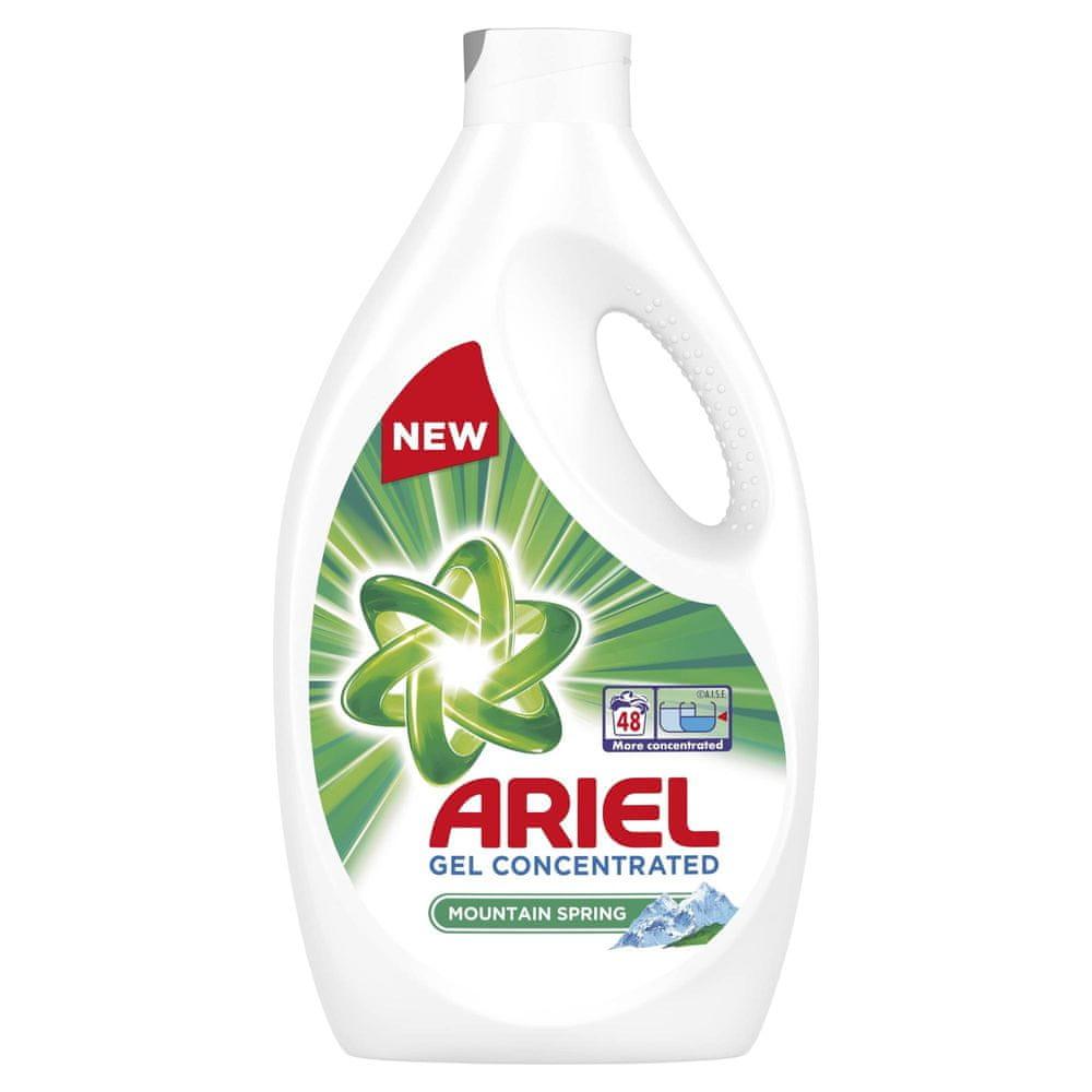 Ariel Prací Gel Mountain Spring 48 praní 2,64 l
