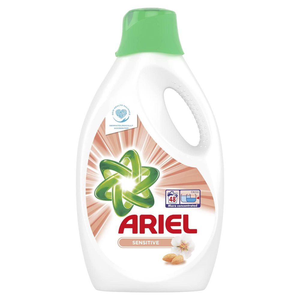 Ariel Prací Gel Sensitive 48 praní 2,64 l