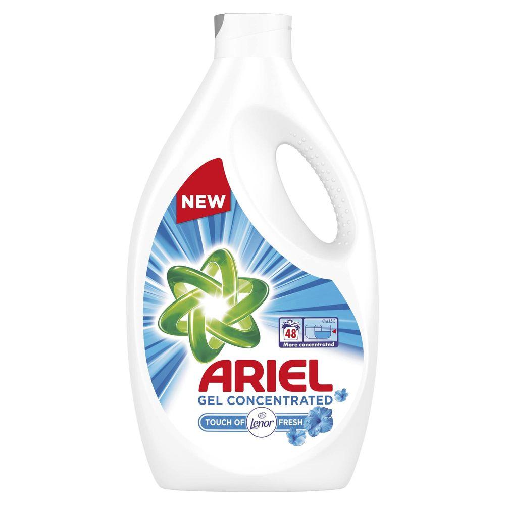 Ariel Prací Gel Touch of Lenor 48 praní 2,64 l