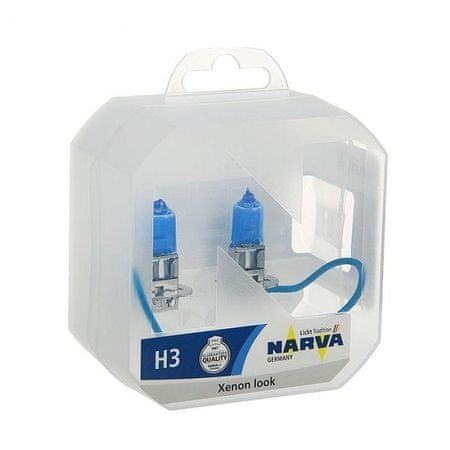 Narva Par žarnic 12V-H3-55W Range Power White