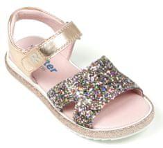 Richter dívčí sandály s třpytkami