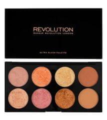 Makeup Revolution Paletka tvářenek Golden Sugar II (Palette Golden Sugar 2 Rose Gold) 13 g