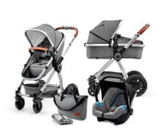 KinderKraft wózek dziecięcy VEO 3w1 Grey