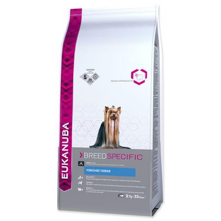 Eukanuba sucha karma dla psa Yorkshire Terrier - 2kg