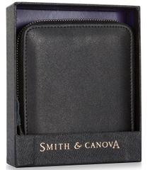 Smith & Canova pánská černá peněženka