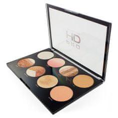 Makeup Revolution HD fényesítő paletta (Brighter Than My Future) 8 x 4 g