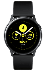 SAMSUNG Galaxy Watch Active, Fekete (SM-R500NZKAXEZ)