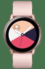 SAMSUNG Galaxy Watch Active, Rózsaarany (SM-R500NZDAXEZ)