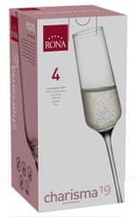 Rona Select Poháre CHARISMA sekt 190 ml 4 ks