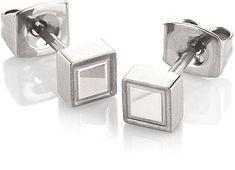 Boccia Titanium Náušnice z titanu 0575-01