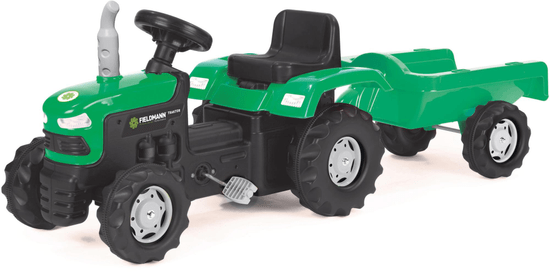 Buddy Toys BPT 1013 poganjalček traktor s prikolico