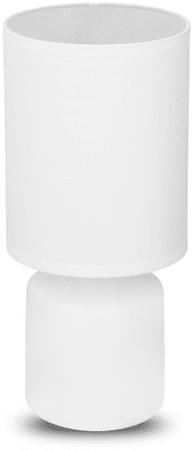 TimeLife Asztali lámpa, kerámia, 29 cm, fehér