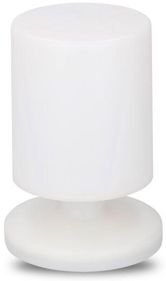 TimeLife Stolná lampa LED Grundig 22,5cm, biela