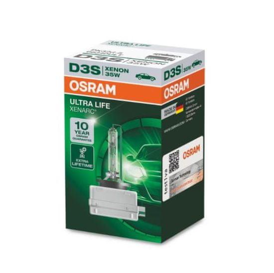 Osram Xenonová výbojka D3S, Xenarc Ultra Life, 35W, PK32d-5