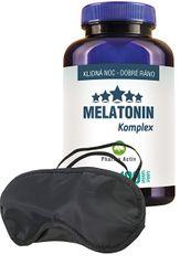 Pharma Activ Melatonin Komplex 100 tbl. + zdarma škraboška