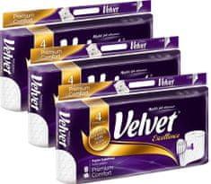 Velvet Excellence Premium Comfort toaletný papier 3 x 8 kotúčov