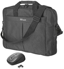 "Trust Primo 16"" Bag with wireless mouse 21685"