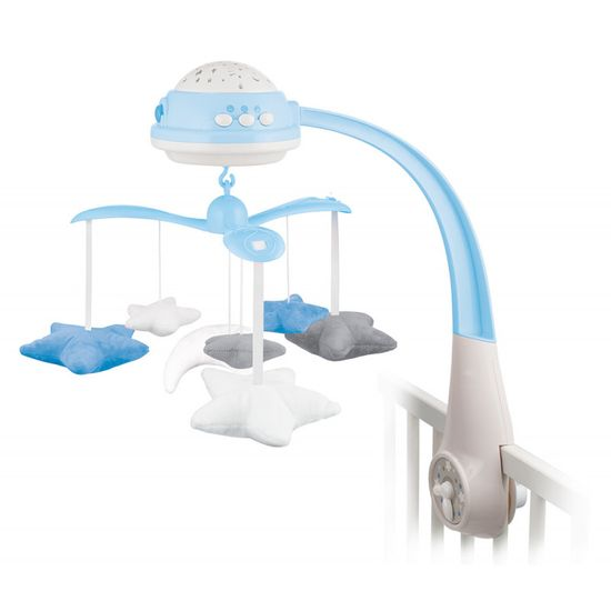 Canpol babies glasbeni vrtiljak s projektorjem Zvezde