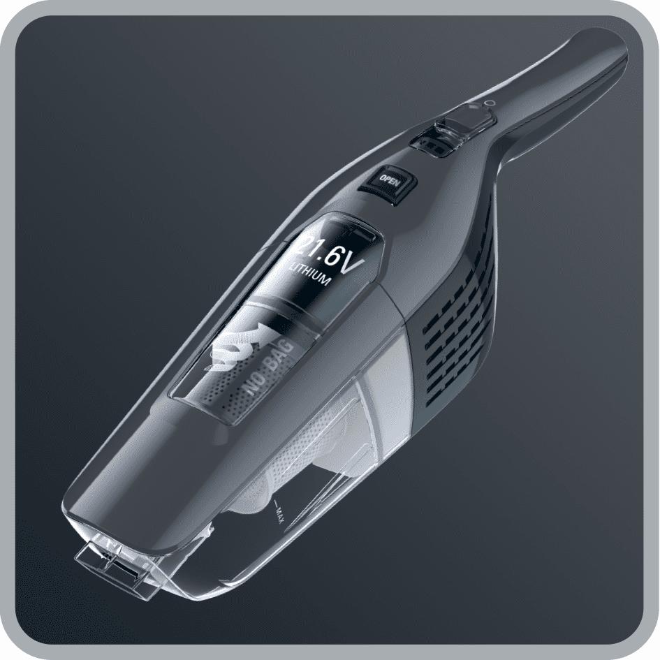 Rowenta RH6756WO Dual Force 2v1  nízka hmotnosť, ergonomická rukoväť