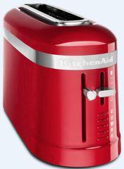 KitchenAid 5KMT3115EER Design opekač kruha za 2 rezini, rdeč