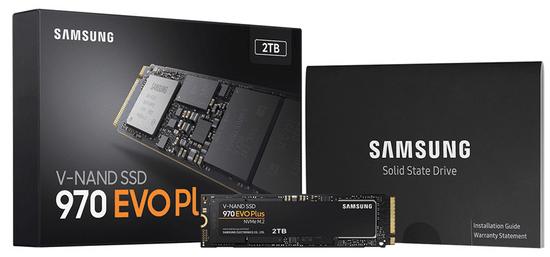 Samsung SSD disk 970 EVO Plus 2 TB, M.2, PCI-e NVMe, TLC