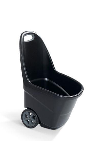 KETER Vozík EASY GO XL 62 L antracit+šedý