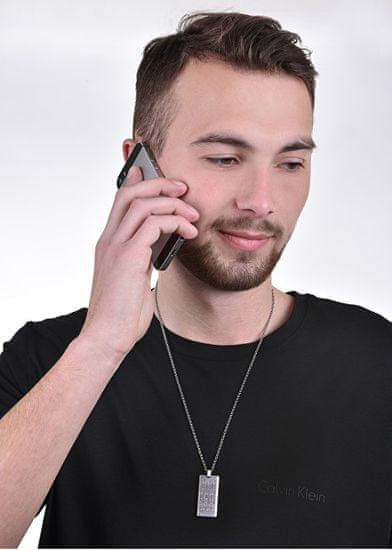 Dici Milano Moška jeklena ogrlica DCNL50160100