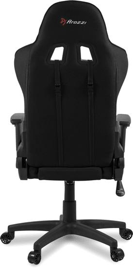 Arozzi Mezzo V2 Fabric, fekete (MEZZO-V2-FB-BLACK)