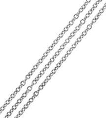 Brilio Silver Srebro Łańcuch Anker 50 cm 471 086 00152 04 - 3,40 g srebro 925/1000
