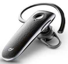 CellularLine Headset Bluetooth EXECUTIVE, PU kůže, multifunkční LED BTEXECUTIVE