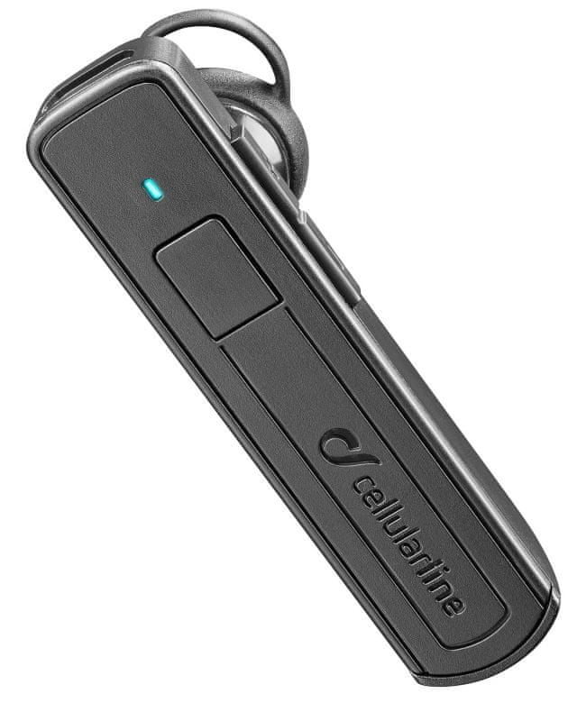 CellularLine Bluetooth headset Mono, černý BTVOXK
