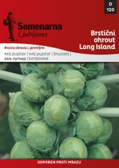 Semenarna Ljubljana brstični ohrovt Long Island, 120, mala vrečka