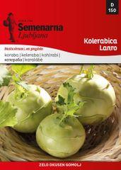 Semenarna Ljubljana kolerabica Lanro, 150, mala vrečka