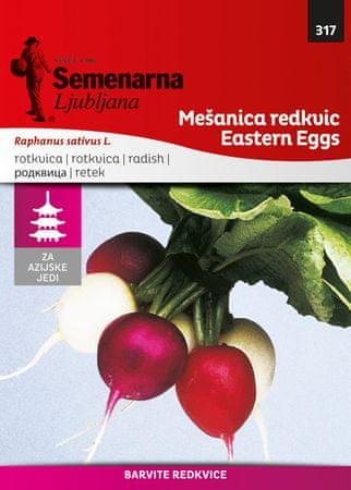 Semenarna Ljubljana pisana redkvica M.V. Azija 317 Eastern Eggs