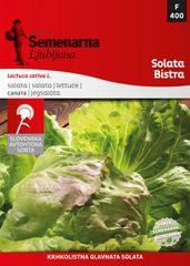 Semenarna Ljubljana solata Bistra, 400, mala vrečka