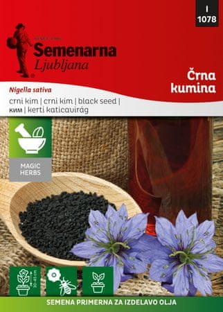 Semenarna Ljubljana črna kumina M.V. Herbs 1078