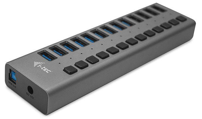 I-TEC USB 3.0 Charging HUB 13 port s napájecím adaptérem 60 W U3CHARGEHUB13